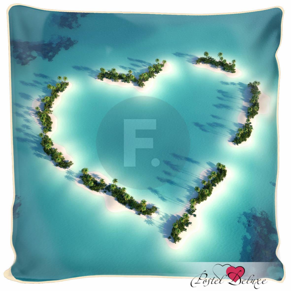 Декоративные подушки Fototende Декоративная подушка Остров Любви (45х45) fototende fototende декоративная подушка остров романтики 45х45