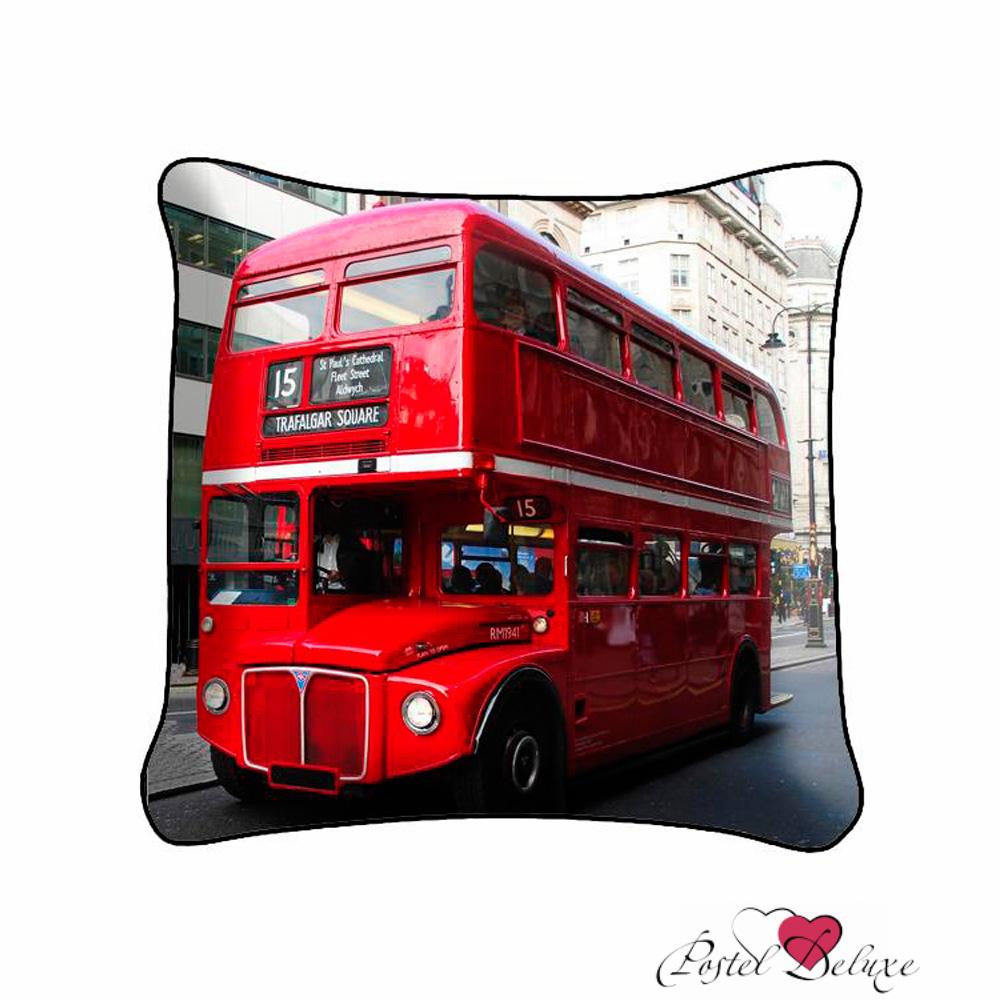 Декоративные подушки Fototende Декоративная подушка Лондонский Автобус (45х45) fototende fototende декоративная подушка остров романтики 45х45