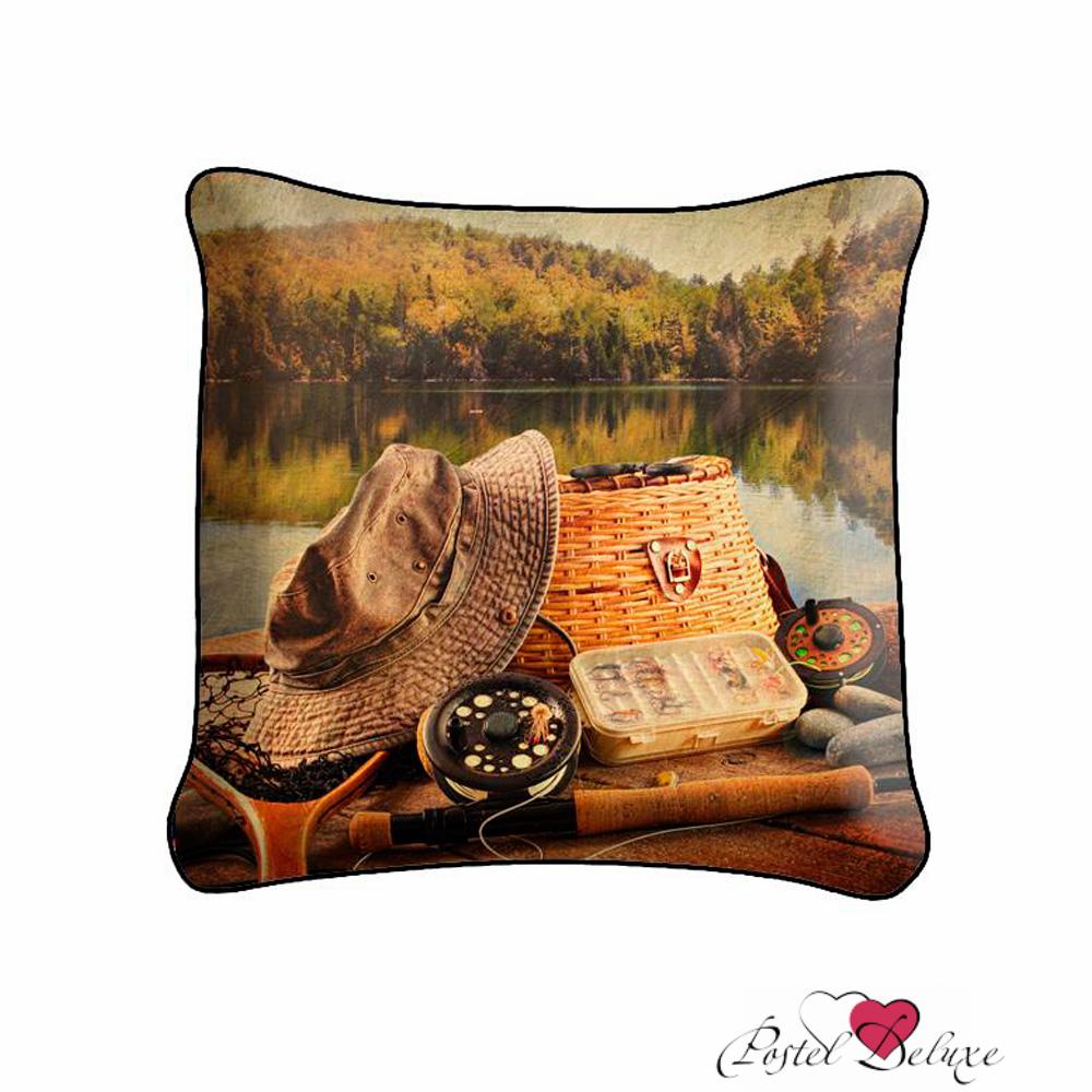 Декоративные подушки Fototende Декоративная подушка Рыбалка (45х45)