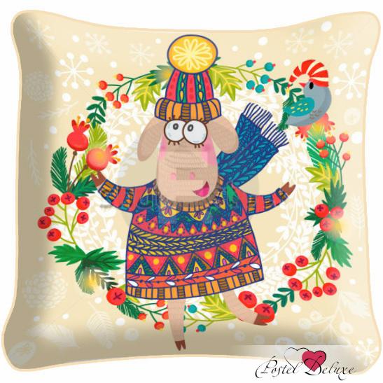 Декоративные подушки Fototende Декоративная подушка Новый год (45х45)