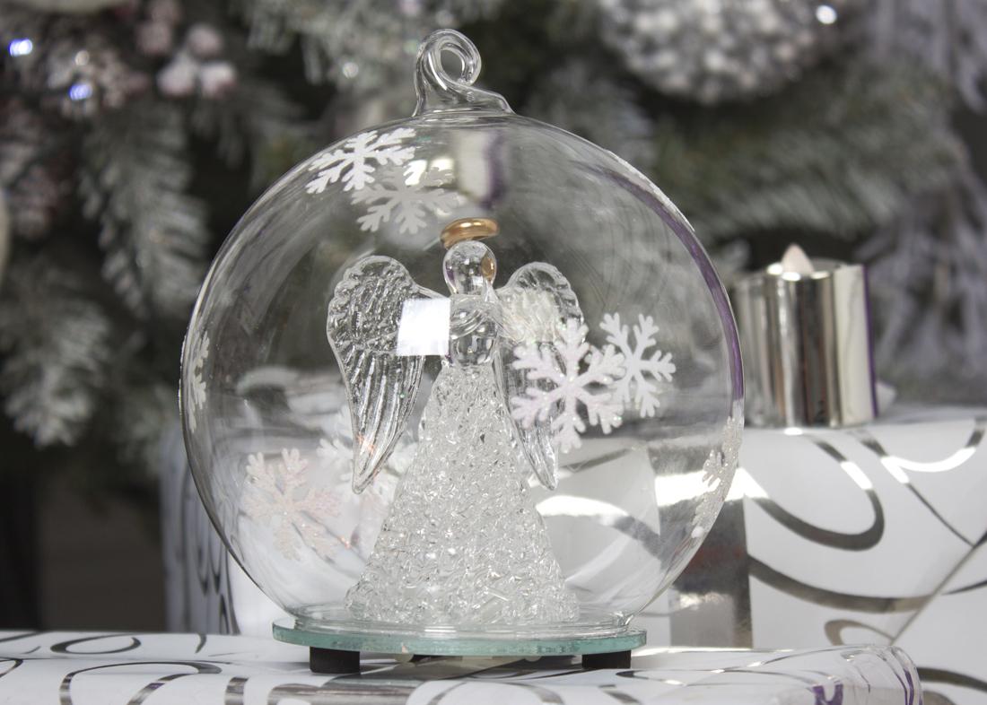 {}  Световая фигура Marielle (12х12 см) световая фигура снеговички 37х45 см