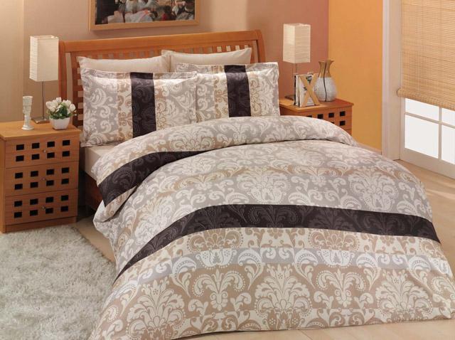 altinbasak кпб santana цвет коричневый 2 сп евро Постельное белье Altinbasak Постельное белье Classico Цвет: Коричневый (2 сп. евро)