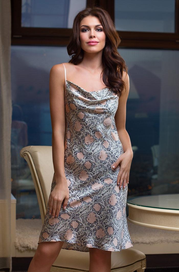 Ночные сорочки Mia-Mia Ночная сорочка Diora (S) сорочка и стринги soft line mia размер s m цвет белый