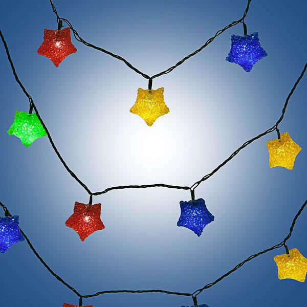 {}  Светодиодная гирлянда Звезда (341 см) гирлянда электрическая lunten ranta сосулька 20 светодиодов длина 2 85 м