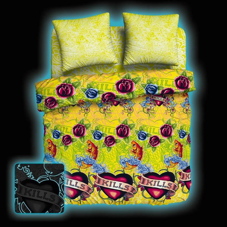 Постельное белье Унисон Постельное белье Tattoo (2 спал.) постельное белье унисон постельное белье дивный сад 2 спал