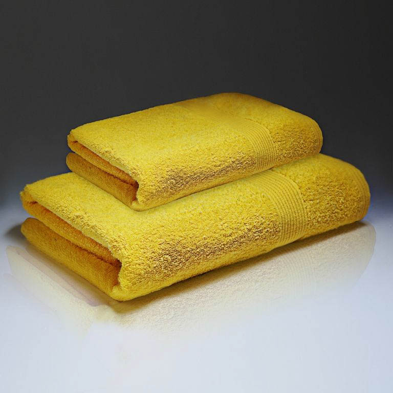 Полотенца Василиса Полотенце Палитра Цвет: Желтый (70х130 см)
