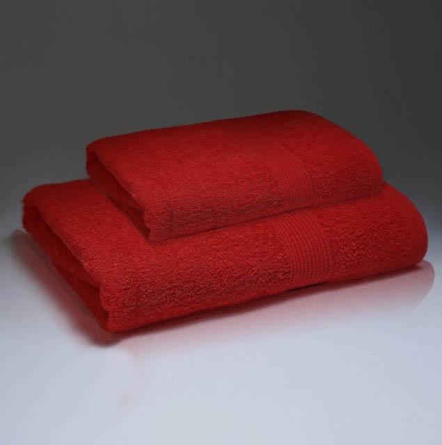 Полотенца Василиса Полотенце Палитра Цвет: Красный (70х130 см)