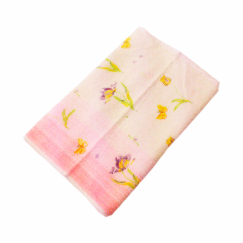 Полотенца Василиса Полотенце Весна Цвет: Розовый (70х130 см)
