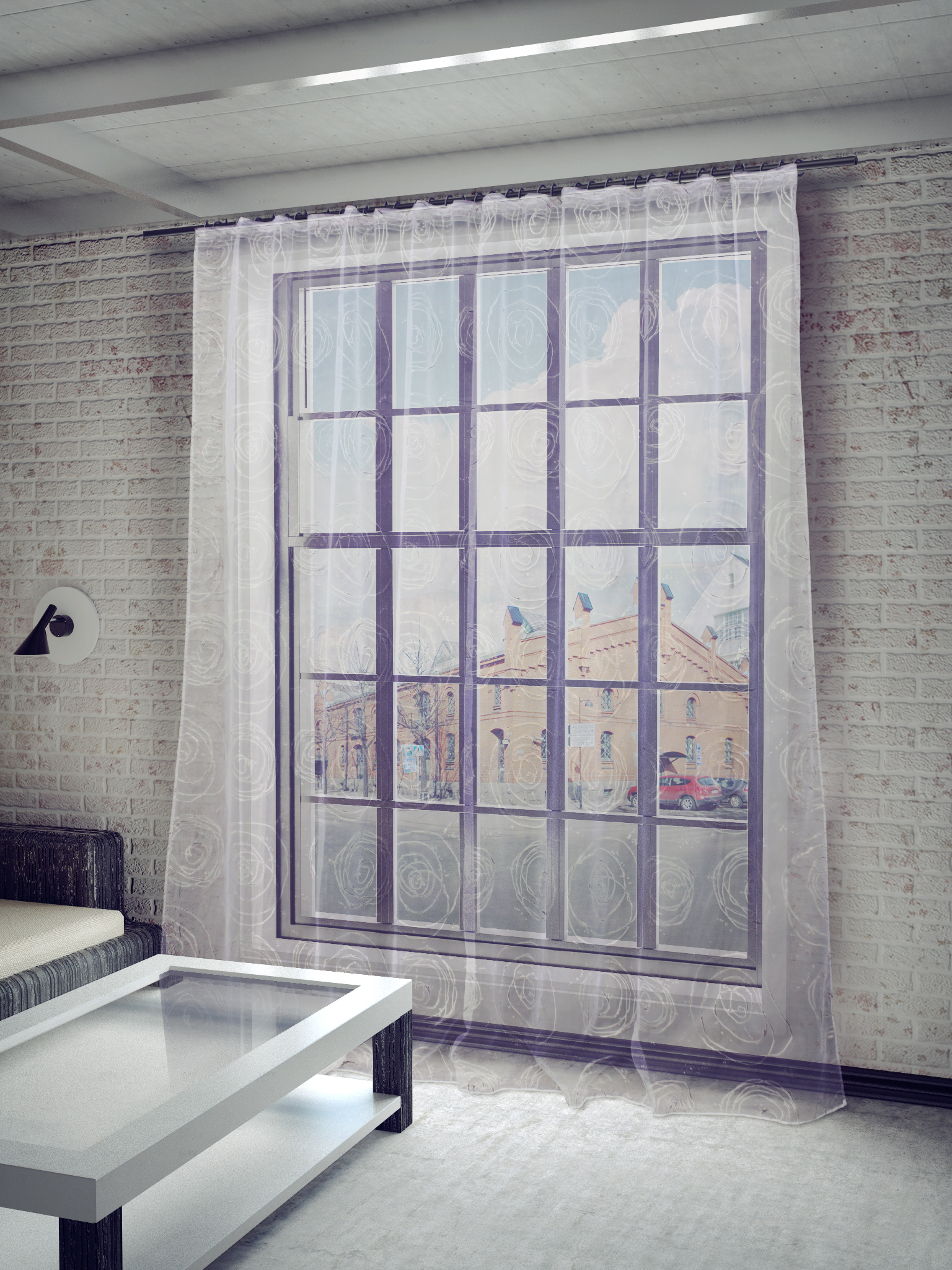 Шторы Sanpa Классические шторы Граса Цвет: Серебристый