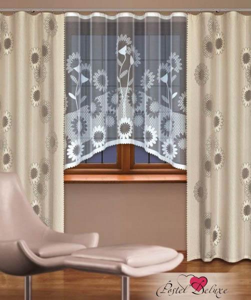 Шторы Haft Классические шторы Janie Цвет: Льняной шторы tac классические шторы winx цвет персиковый 200x265 см