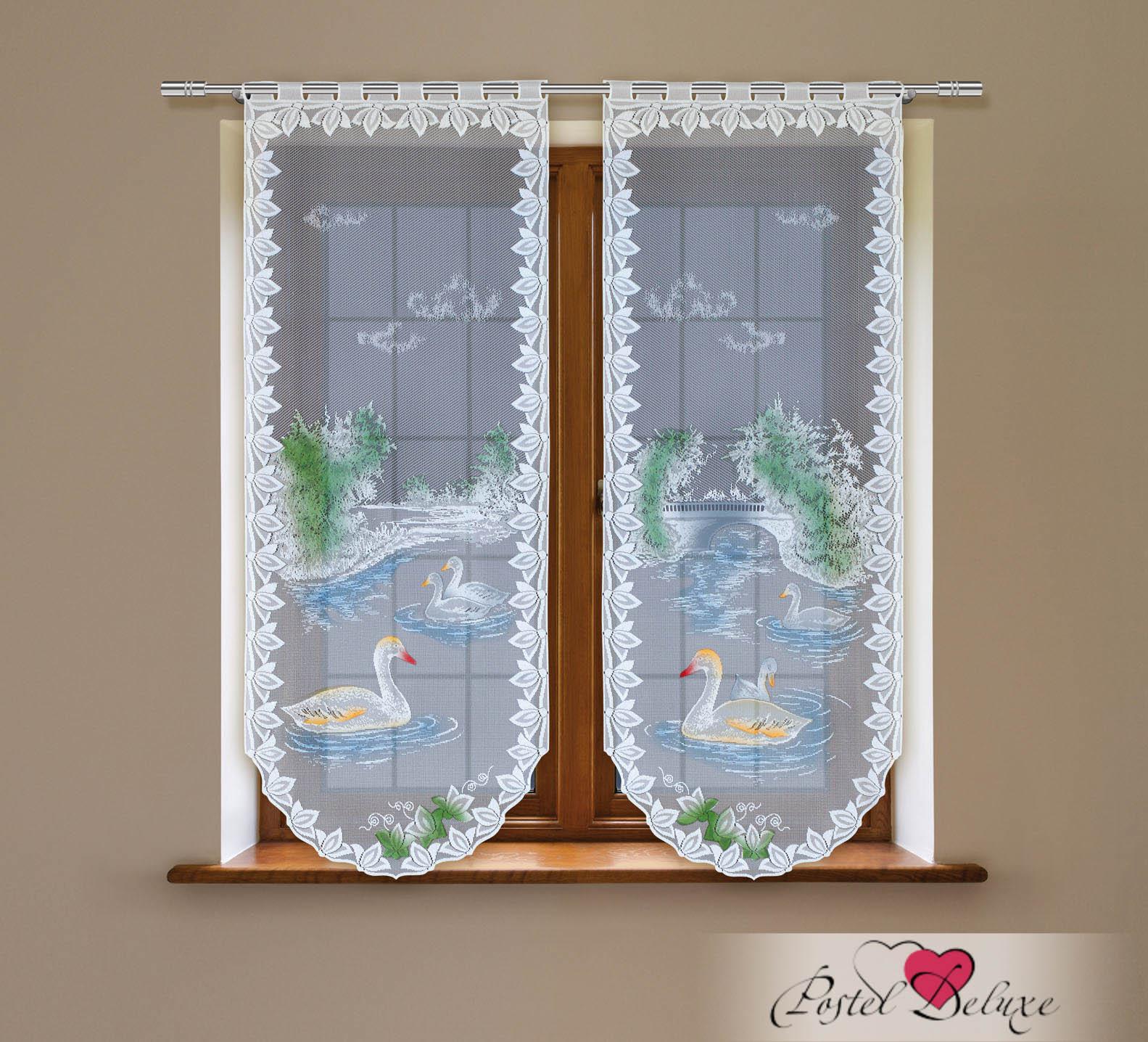 Шторы Haft Японские шторы Rokkoko Цвет: Белый