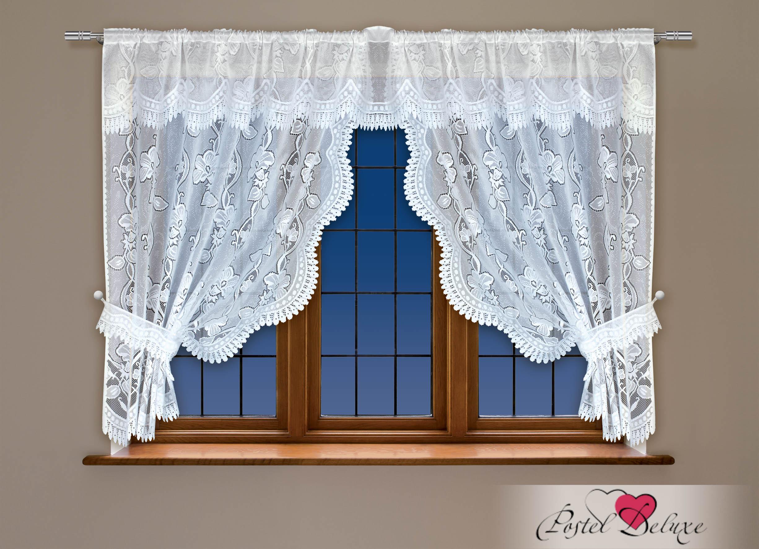 Шторы Haft Классические шторы Elfrieda Цвет: Белый шторы tac классические шторы winx цвет персиковый 200x265 см