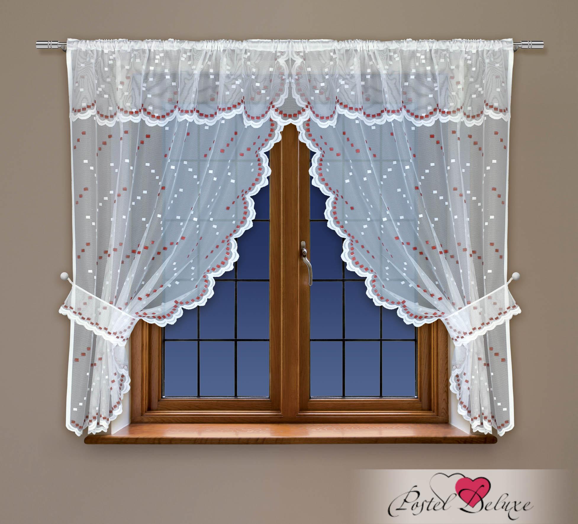 Шторы Haft Классические шторы Amey Цвет: Красный шторы primavera классические шторы maev цвет персиковый