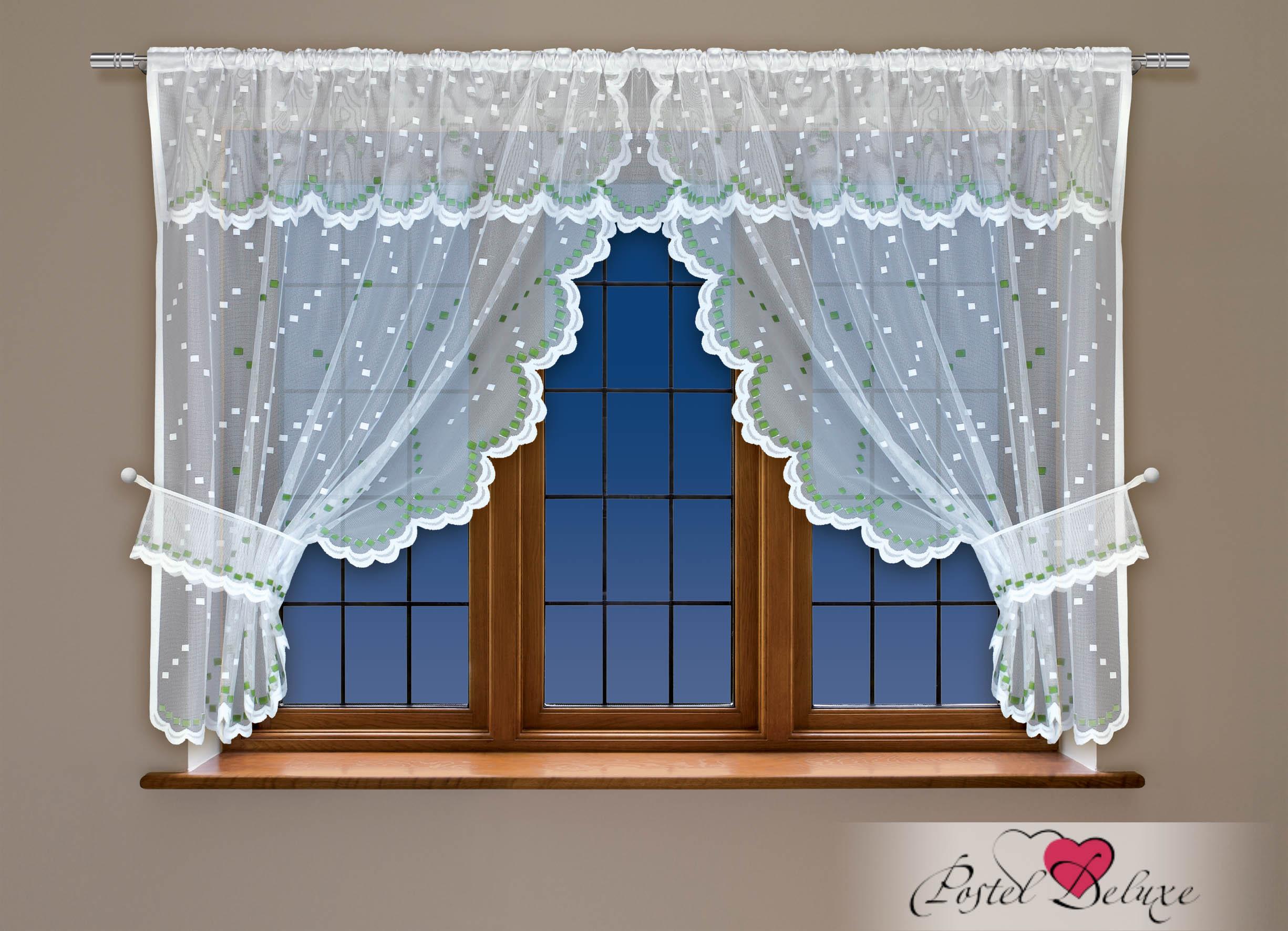 Шторы Haft Классические шторы Amey Цвет: Зеленый шторы tac классические шторы winx цвет персиковый 200x265 см