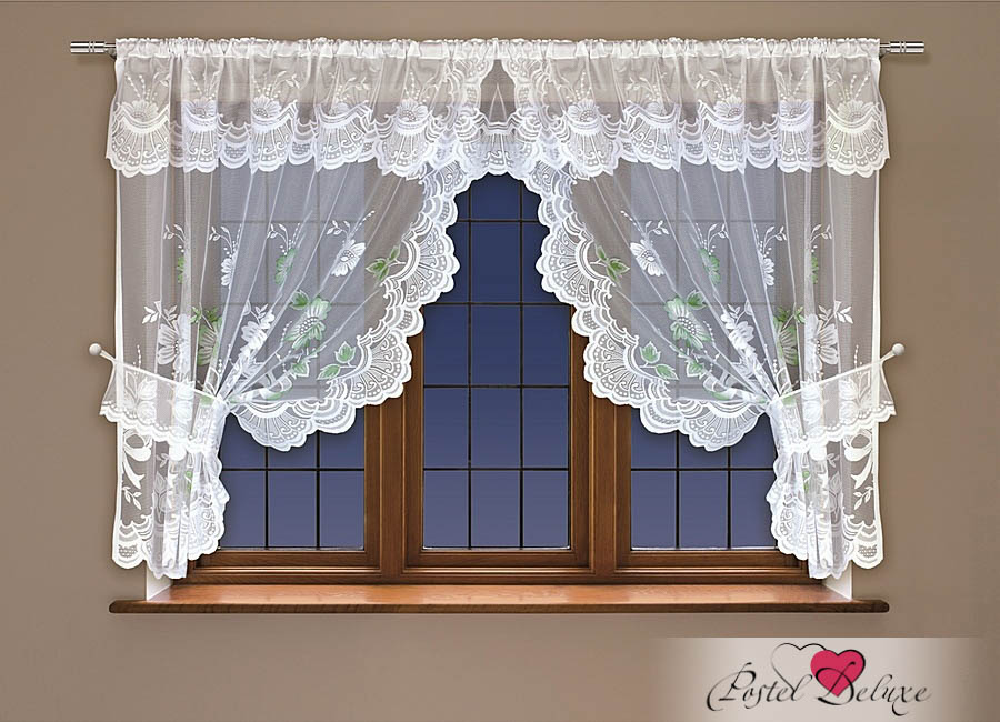 Шторы Haft Классические шторы Salina Цвет: Белый шторы tac классические шторы winx цвет персиковый 200x265 см
