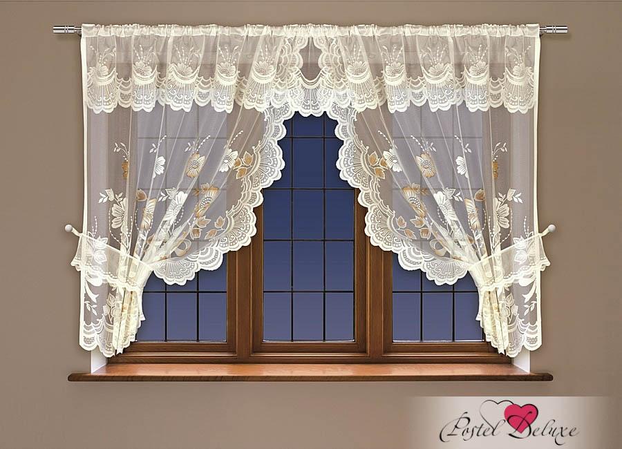 Шторы Haft Шторы с ламбрекеном Salina Цвет: Кремовый шторы haft японские шторы hadise цвет кремовый