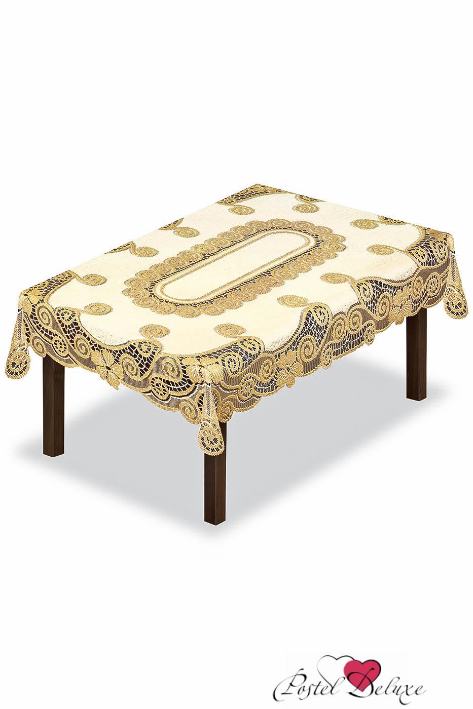 Скатерти и салфетки Haft Скатерть Prestine Цвет: Крем-Золото (130х180 см)