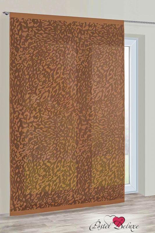 Шторы Haft Японские шторы Abdon Цвет: Шоколадный