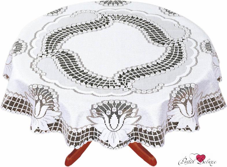 Скатерти и салфетки Haft Скатерть Nicky Цвет: Белый (круглая 160 см)