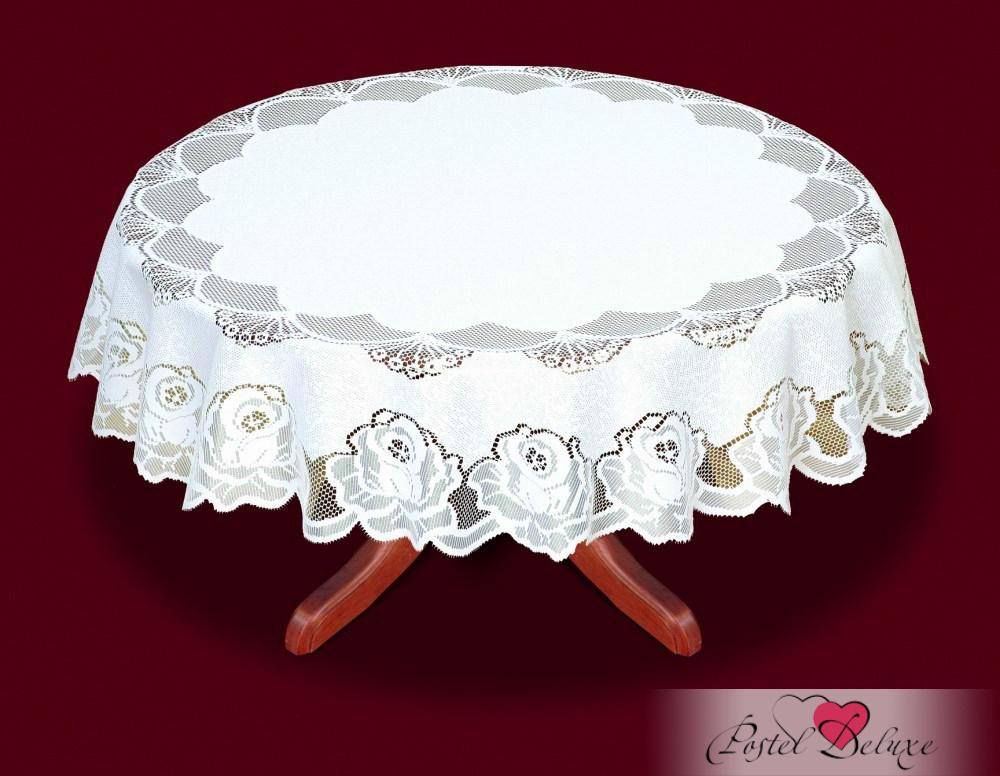 Скатерти и салфетки Haft Скатерть Amey Цвет: Белый (круглая 160 см)