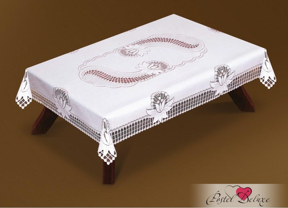 Скатерти и салфетки Haft Скатерть Alvar Цвет: Белый (150х300 см) бинт peha haft самофиксирующийся красный 10смх4м