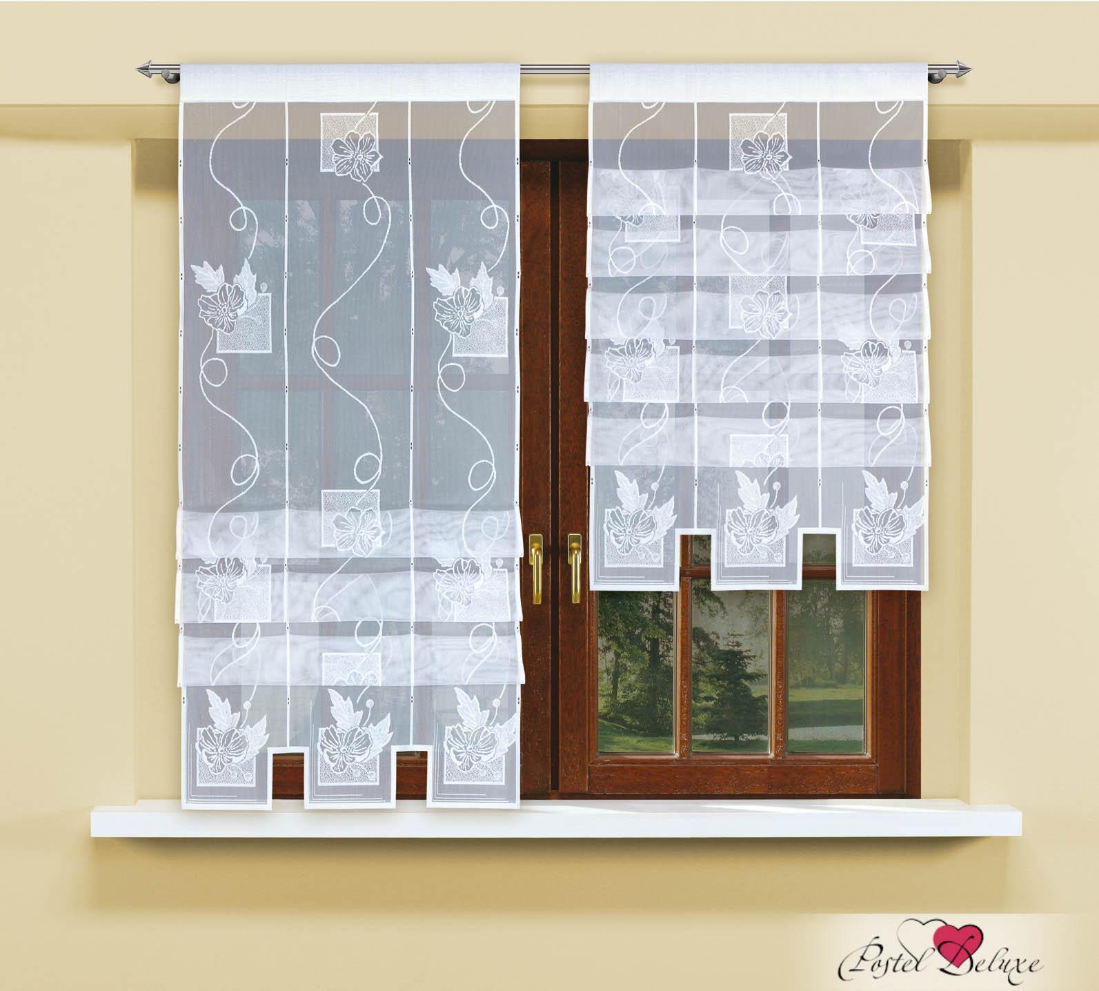 Римские и рулонные шторы Haft Римские шторы Winthrop Цвет: Белый шторы интерьерные haft комплект штор для гостиной