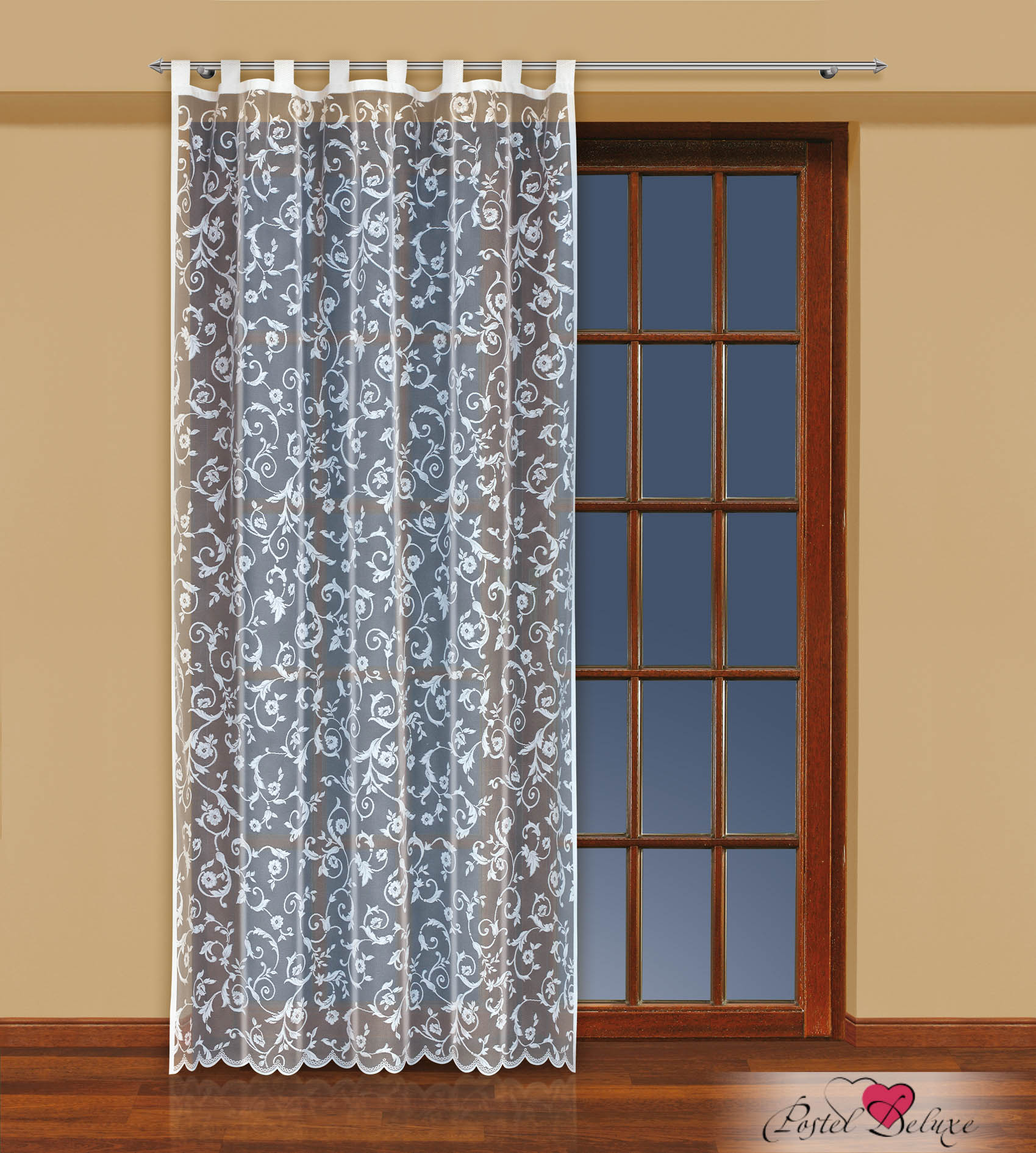 Шторы Haft Классические шторы Herk Цвет: Белый шторы tac классические шторы winx цвет персиковый 200x265 см