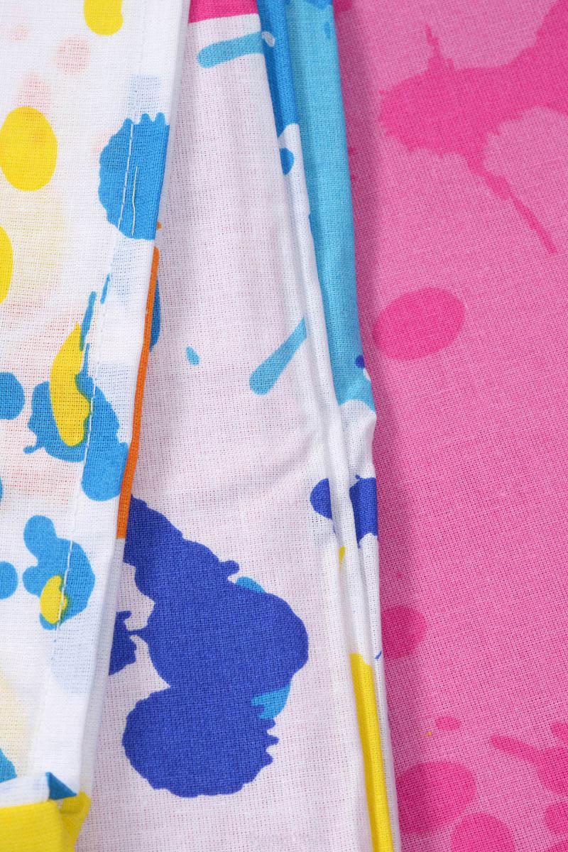 где купить Детское Постельное белье Хлопковый Край Постельное белье Happy Цвет: Розовый (140х205 см) по лучшей цене