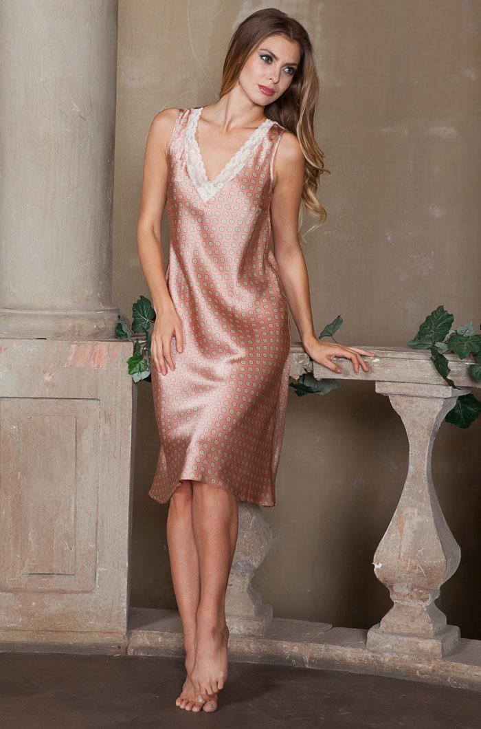 Ночные сорочки Mia-Mia Ночная сорочка Agata (xL) домашние халаты mia mia домашний халат yesenia xl