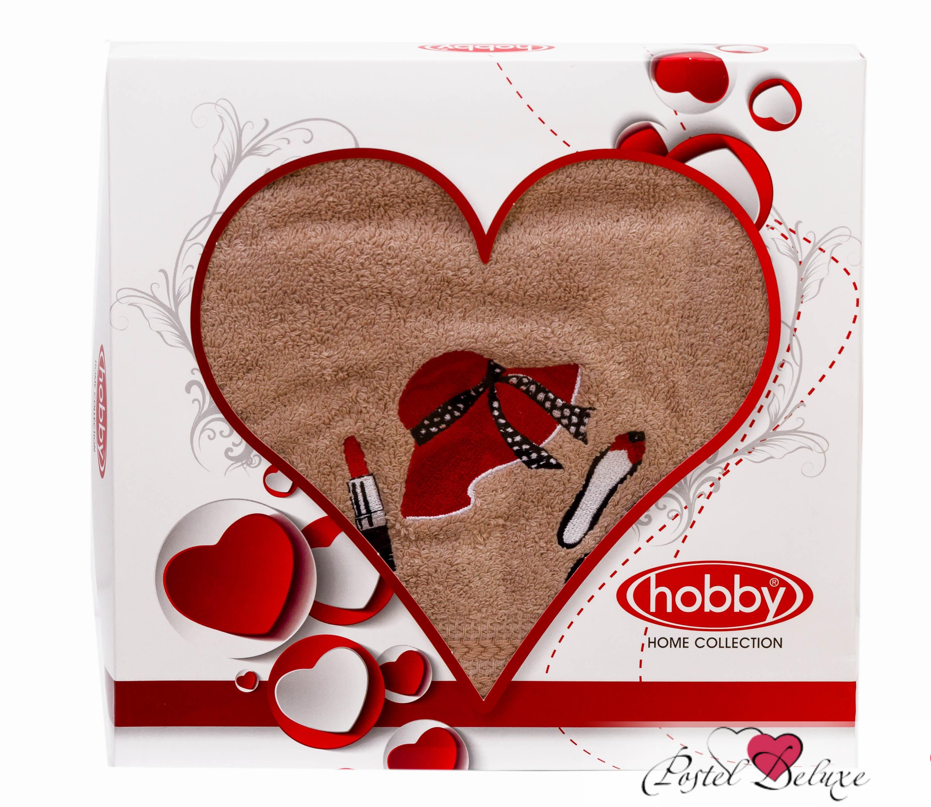 Полотенца HOBBY HOME COLLECTION Полотенце Love Цвет: Бежевый (50х90 см)