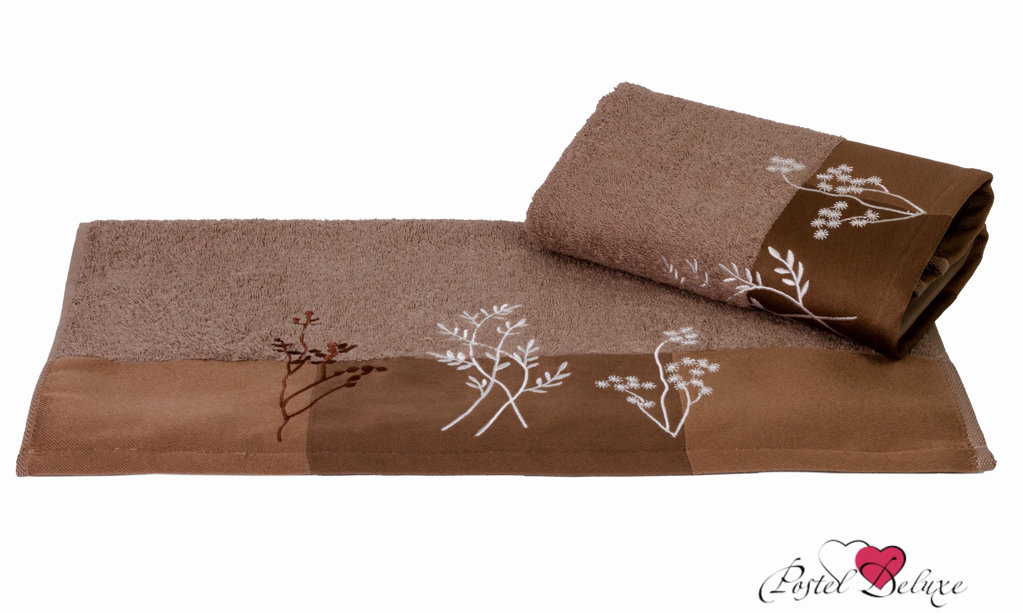 Полотенца HOBBY HOME COLLECTION Полотенце Flora Цвет: Коричневый (70х140 см)