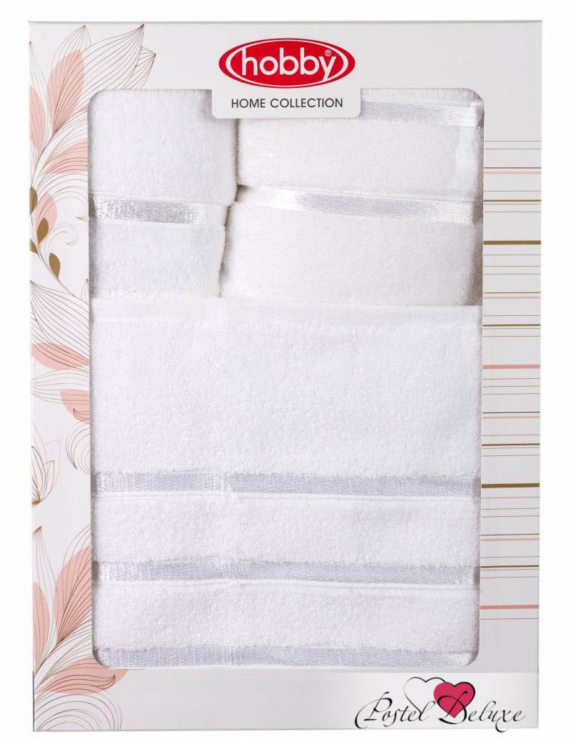 где купить Полотенца HOBBY HOME COLLECTION Полотенце Dolce Цвет: Белый (Набор) по лучшей цене