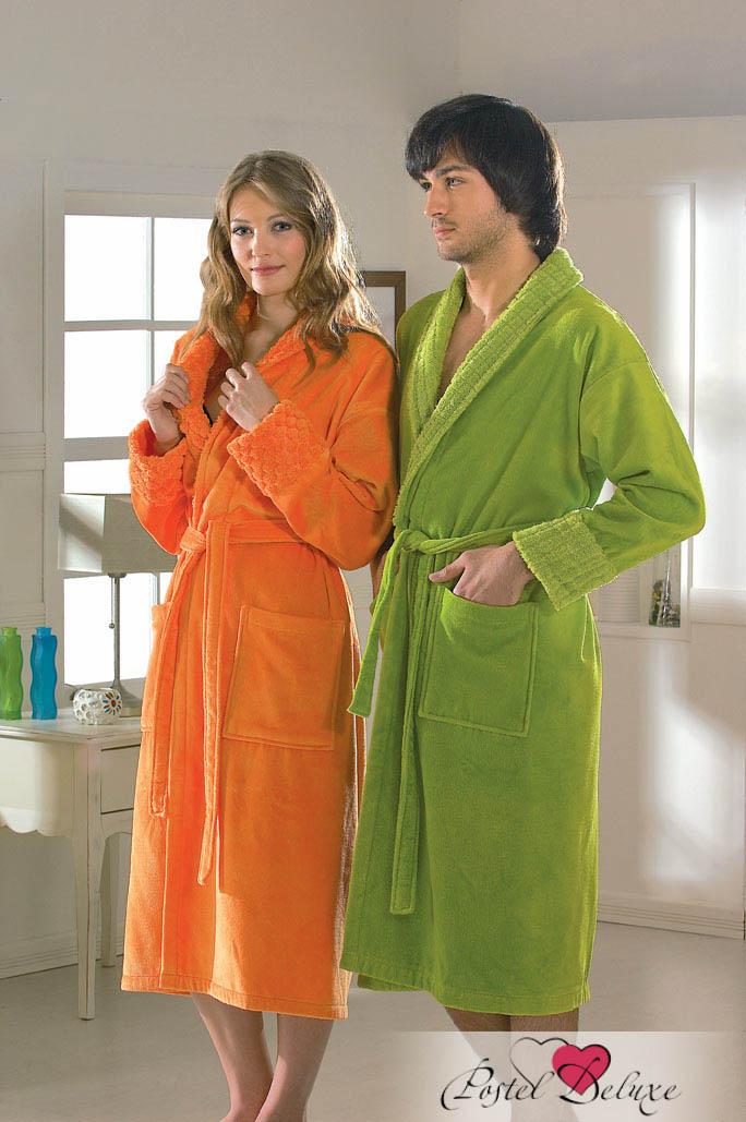 Сауны, бани и оборудование HOBBY HOME COLLECTION Халат Angora Цвет: Оранжевый (S) футболка print bar амстердам
