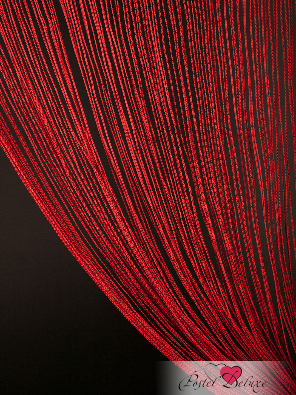 Шторы HomeDeco Нитяные шторы Постоянство Цвет: Бордовый
