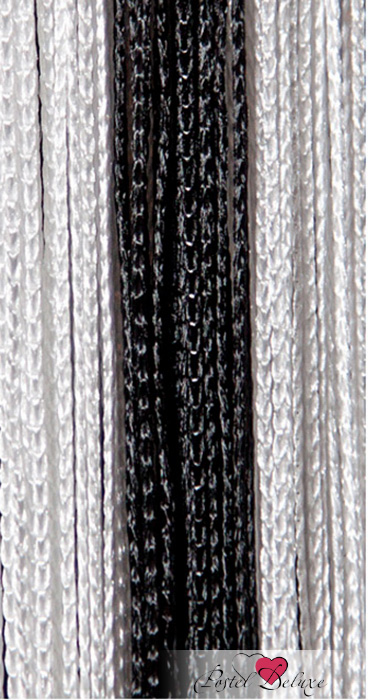 Шторы HomeDeco Нитяные шторы Постоянство Цвет: Черно-Белый