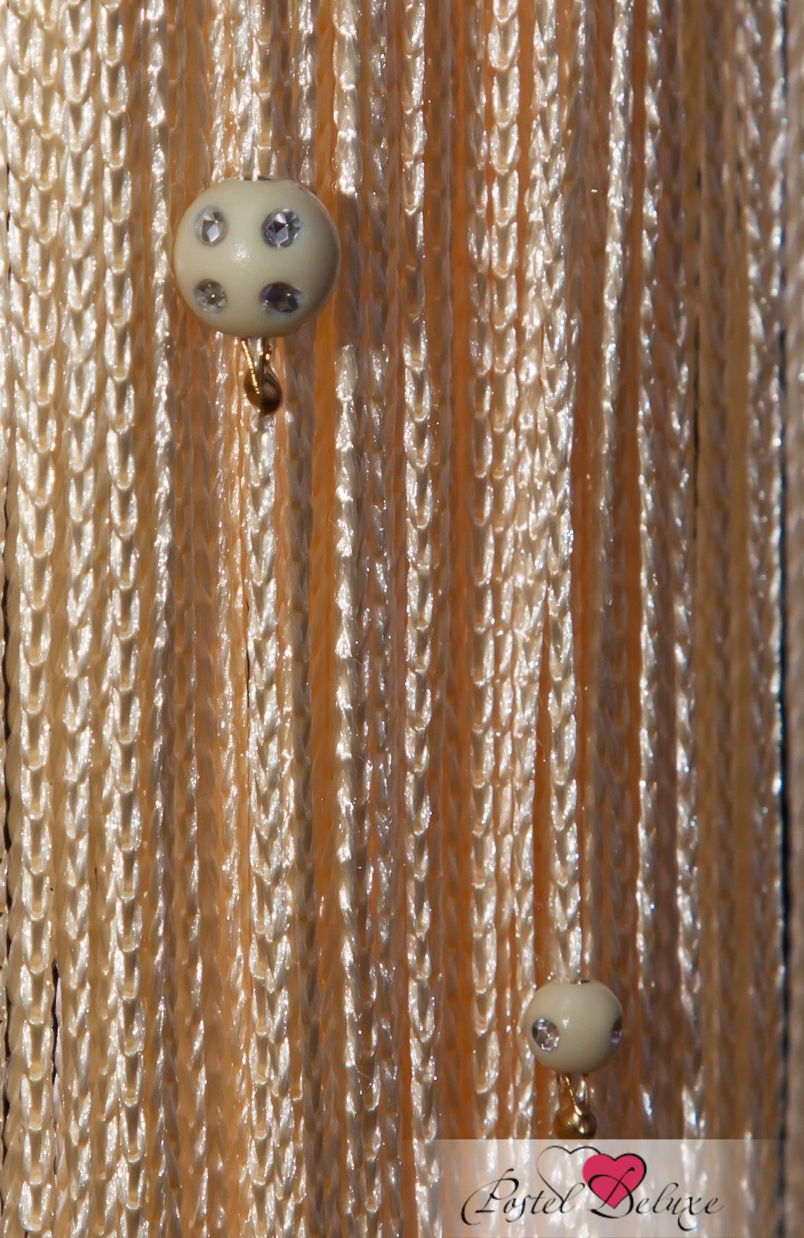 Шторы HomeDeco Нитяные шторы Бусинки Цвет: Ванильный