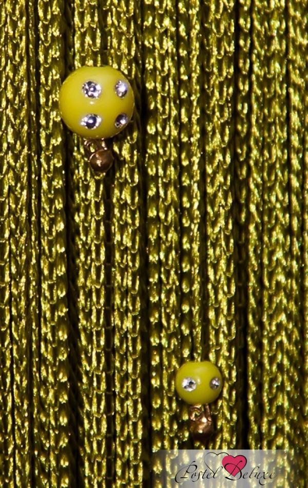 Шторы HomeDeco Нитяные шторы Бусинки Цвет: Зеленый