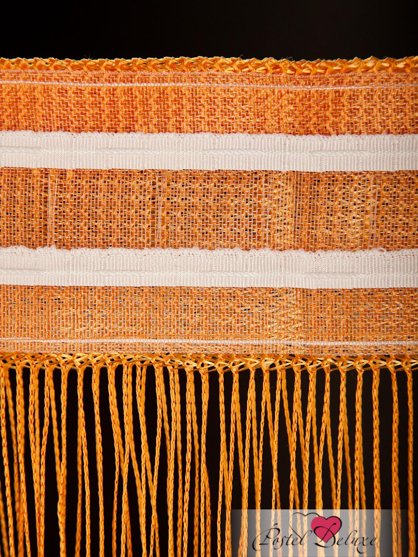 Шторы HomeDeco Нитяные шторы Монотонность Цвет: Оранжевый