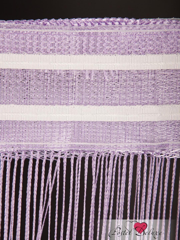 Шторы HomeDeco Нитяные шторы Монотонность Цвет: Фиолетовый