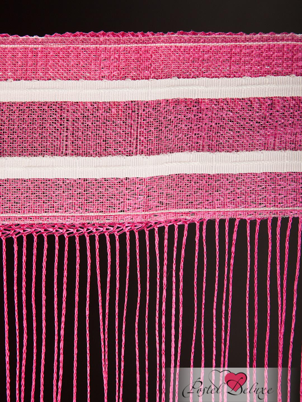 Шторы HomeDeco Нитяные шторы Монотонность Цвет: Розовый