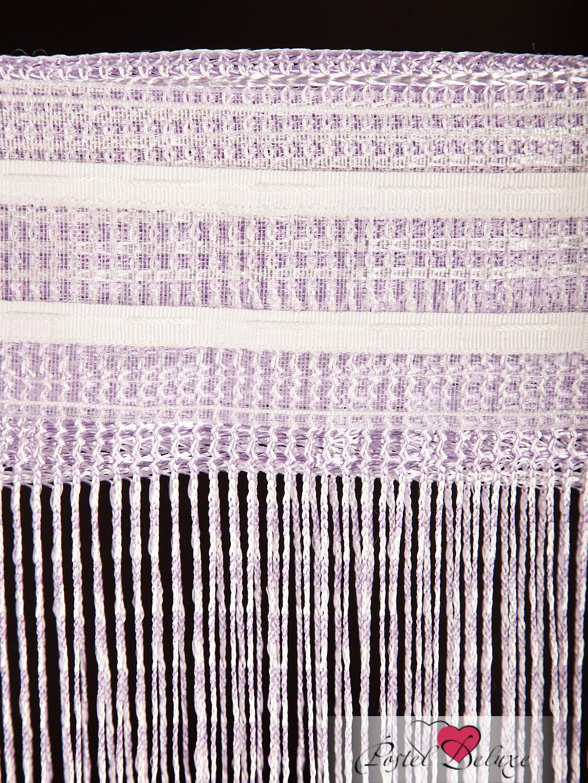 Шторы HomeDeco Нитяные шторы Пестрас Сирень