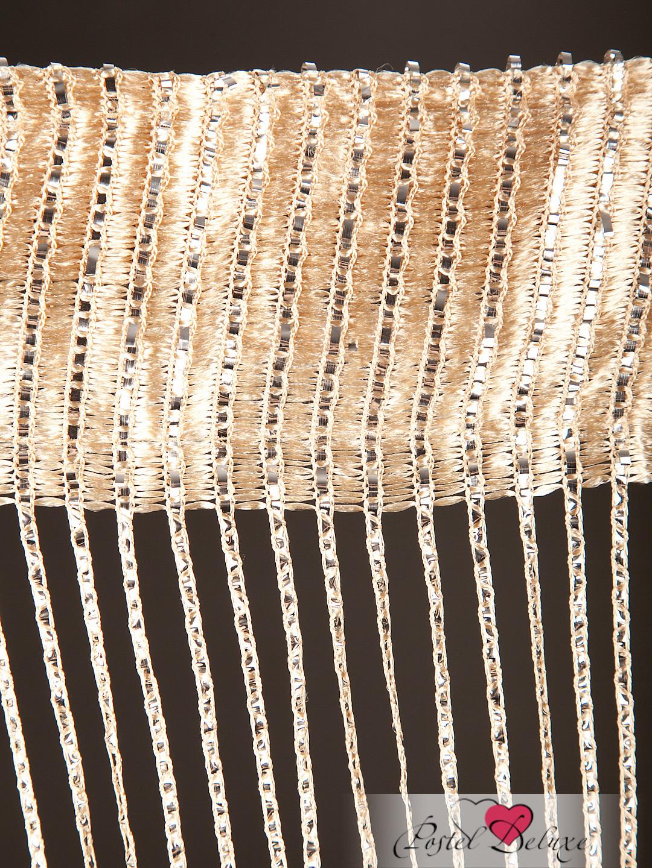 Шторы HomeDeco Нитяные шторы Лучи Цвет: Бежевый