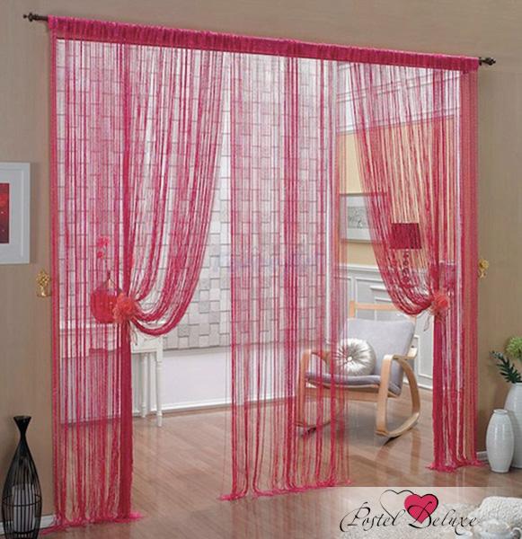 Шторы HomeDeco Нитяные шторы Мудрость Востока Цвет: Брусничный