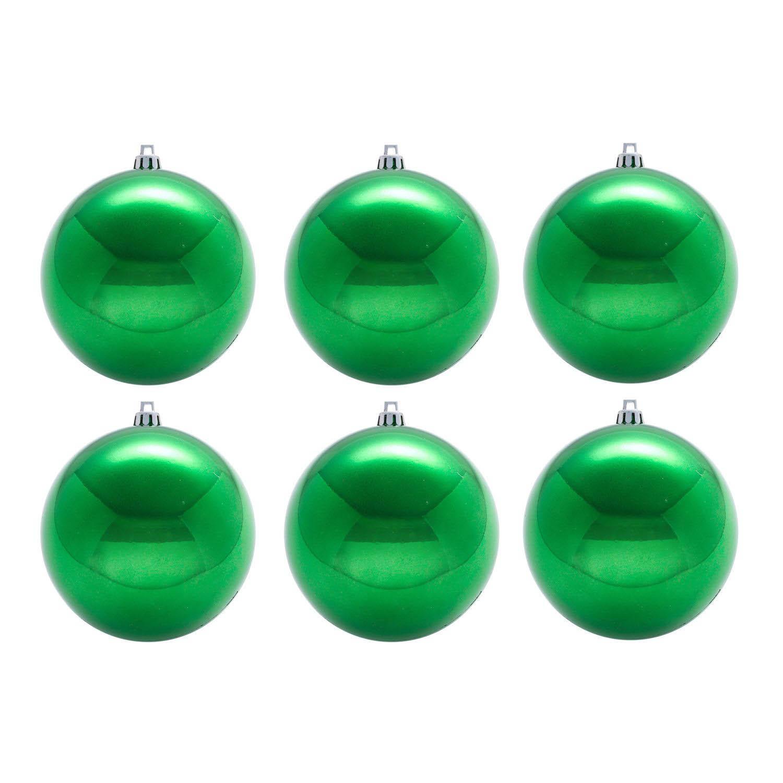 {}  Елочные шарики Brenton Цвет: Зеленый (8 см - 6 шт) елочные шарики nicholas 8 см 3 шт