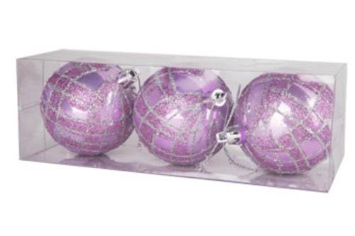 {}  Елочные шарики Alvin (7 см - 3 шт) елочные шарики nicholas 8 см 3 шт