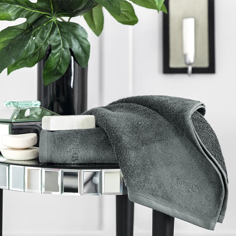 где купить Полотенца Togas Полотенце Пуатье Цвет: Серый (70х140 см) по лучшей цене