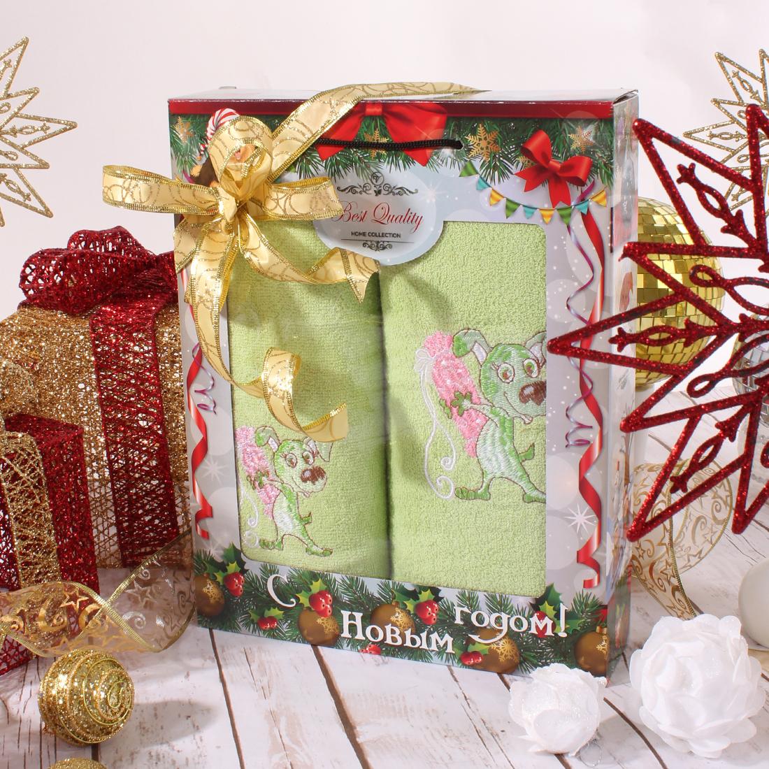 Полотенца Eleganta Полотенце Конфета Цвет: Зеленый (50х90 см,70х140 см) полотенца eleganta полотенце медаль цвет салатовый 50х90 см 70х140 см