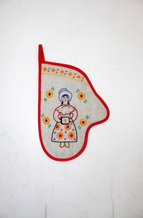 {} 8 Марта Рукавичка Вятские Гуляния Барыня Цвет: Красный (18х25 см) 8 марта кухонное полотенце вятские гуляния цвет красный 40х53 см