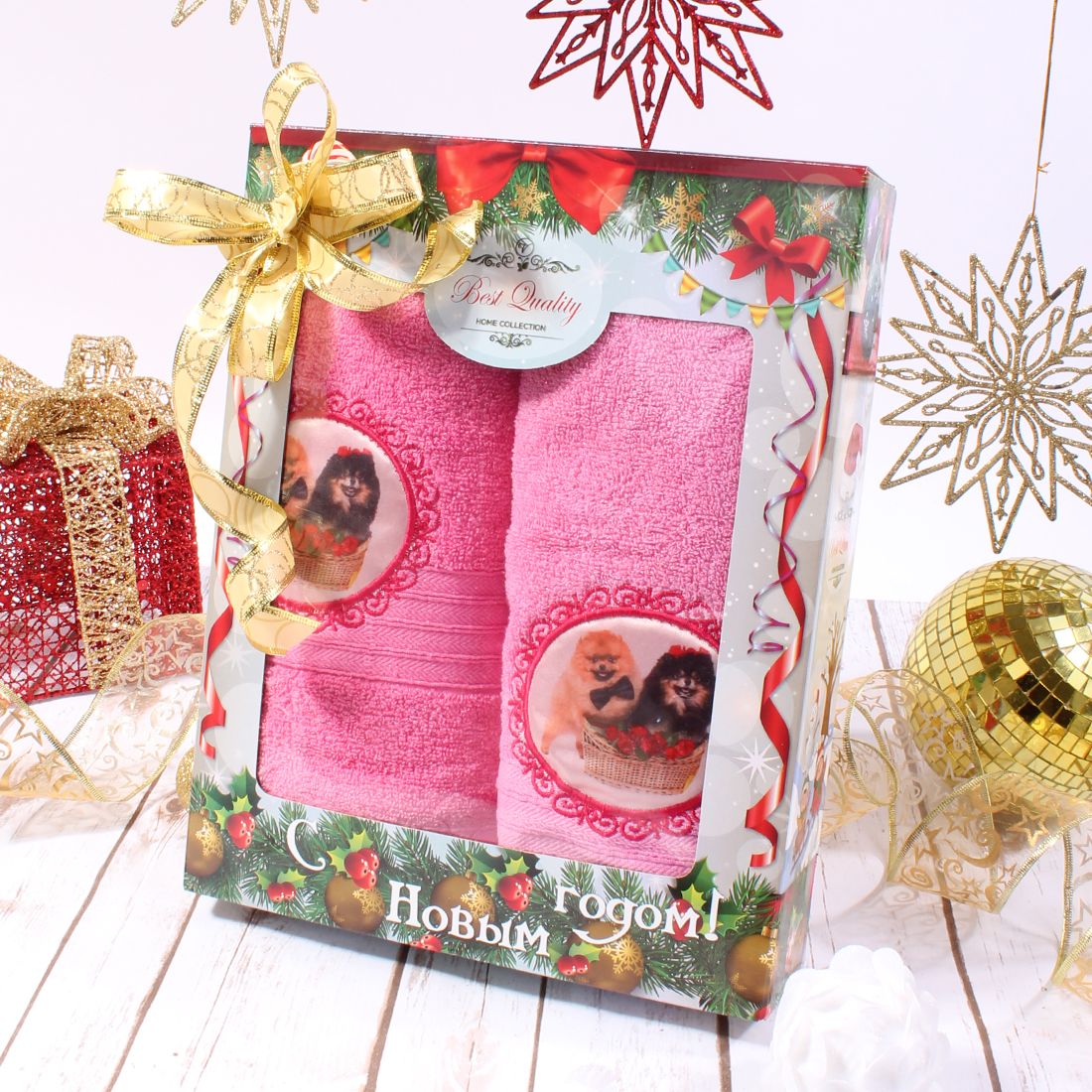 Полотенца Eleganta Полотенце Шпиц Цвет: Розовый (50х90 см,70х140 см) полотенца eleganta полотенце медаль цвет салатовый 50х90 см 70х140 см