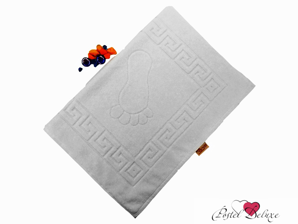 Аксессуары для ванной и туалета Arya Коврик для ванной Otel Цвет: Белый (50х70 см) полотенца arya полотенце otel цвет белый 50х90 см 6 шт